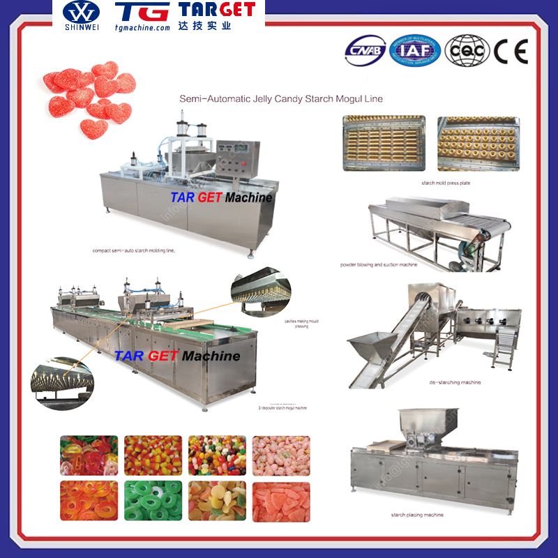 Mogul Starch Molded Jelly Candy Depositing Machine