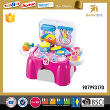 Top Popular Mini Kitchen Chair Toy With Light And Sound
