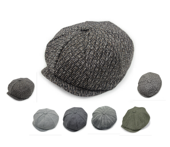 Wholesale Custom Design Stylish Ivy Hat And Plain Newsboy Hat