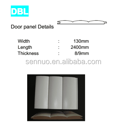 High quality PVC mdf skirting board