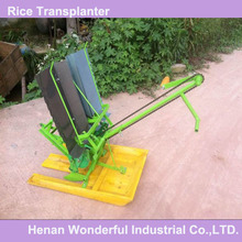 wonderful China mini manual walking 2 row hand rice transplanter for sale