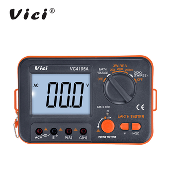 VICI 4105A Low Price Digital Megger Insulation Resistant earth ground tester for sale