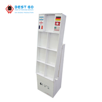 Customized style mobile phone accessories retail cardboard display stand