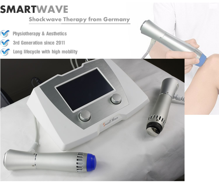 Neck physical therapy shockwave therapy equipment used