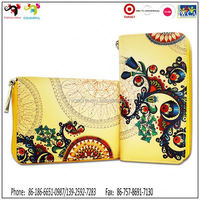 Bags and wallets for Valentines Gift unisex originality canvas wallet banknotes fabric wallet