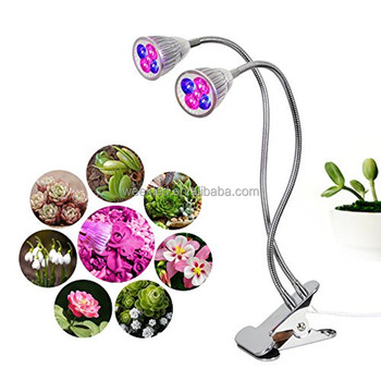Top quality full spectrum greenhouse hydroponics 10w flower office table plants used led grow light