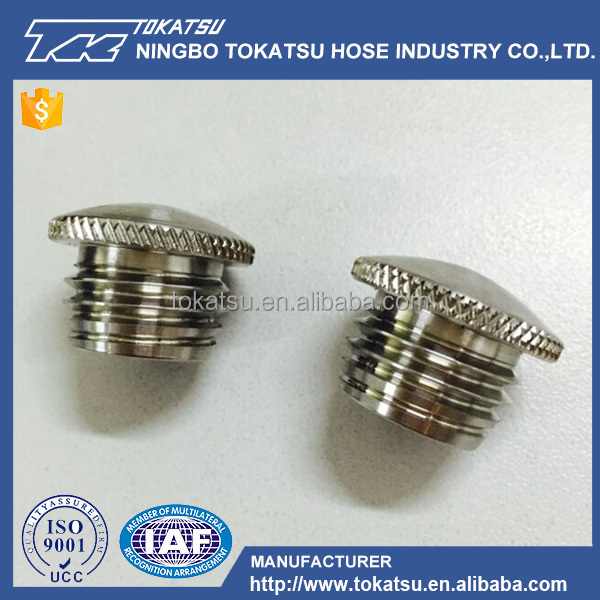 ALIBABA Made In China Good Quality Stainless Steel Hose Ends Cap