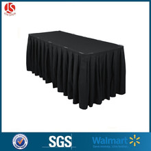 Different Designs of Black Green Table Skirting