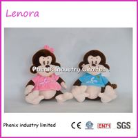 Factory supply custom design stuffed plush human doll toys made in china