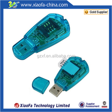Hot sale mini sim card reader with CD for Backup mobile phone sim card