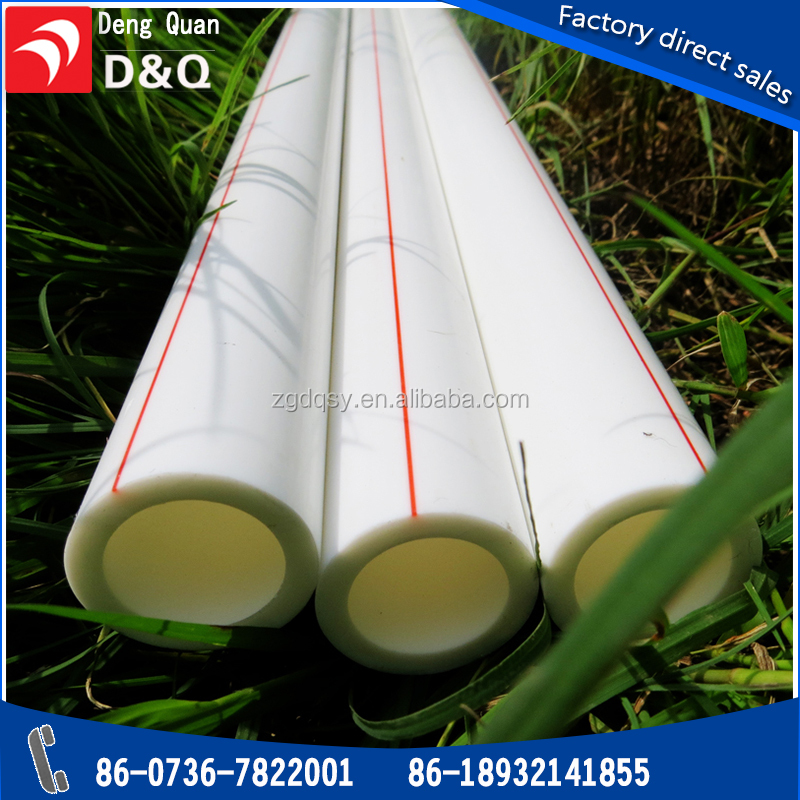 New material Plastic Tubes Hot Cold Water Supply PPR Pipe ,ppr pipe fitting
