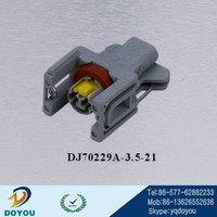 DJ70229A-3.5-21 2 pin FCI 240PC024S8014 female Jumper Wire Cable connector