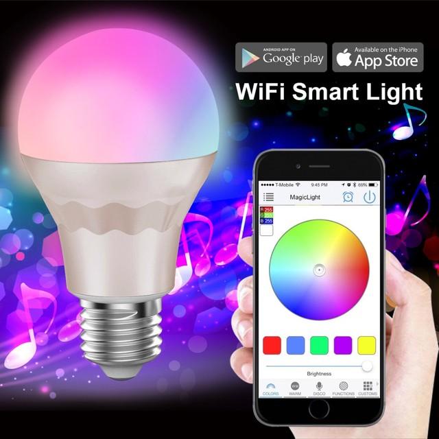 wifi e27/e26/b22 Led Bulb Light Fully Color br40 Led Bulbs National Day (SWEDEN)