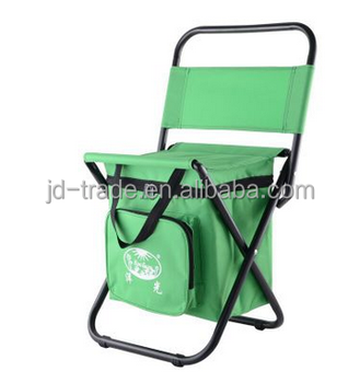 Easy Folding Easy Take Leisure Beach and Fishing Chair With Cooler Bag