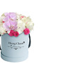 Round Paper Flower Box With Lid