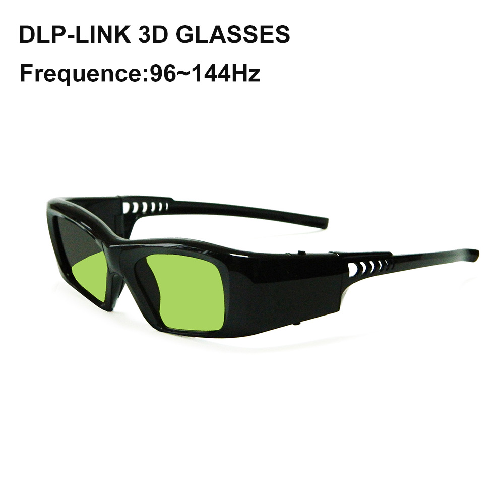 New Rechargeable universal DLP LINK 3D glasses for BENQ/ACER/OPTOMA 3d projectors