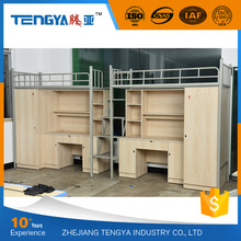 High quality new design school domitory metal bunk bed