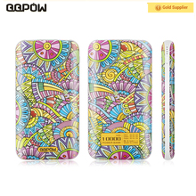 QQPOW P029 2017 NEW Type c 10000 mah mobile soft touch powerbank portable power bank