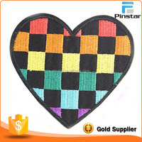 Wholesale Cheap Iron On Heart Shape Embroidery Patch