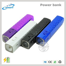 Wholesale Mobile Charger with LED Light Indicator Portable Power Bank 2800mah