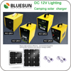 Bluesun High quality portable solar power system with phone charger