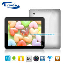 "ZX-MD9712 9.7"" tablet pc ATM7029 quad core android 4.1 1024*768 1GB/8GB 6000mAh tablet pc wholesalers"