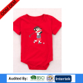 plain style printing free size comfortable knitting clothes for newborn baby blank type romper