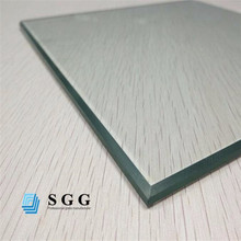 12mm clear tempered glass factory building glass roof materials