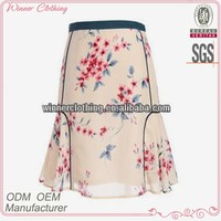 Ladies Transparent Chiffon Short Mini Skirts Pictures
