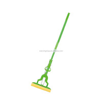 WANXIN 2016 newest design extendable handle sponge mop easy dry Cleaning Sponge PVA Mop