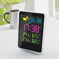 New Design Outdoor wifi digital thermometer hygrometer alarm clock weather station