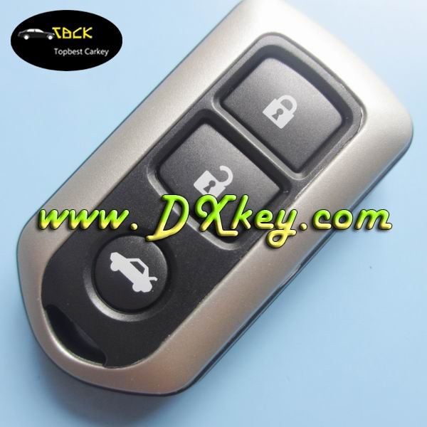 car key blank for toyota yaris remote key shell 3 button for toyota keys