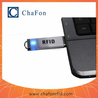 125khz mini rfid reader support TK4100/EM4200 chip card read only can support support Linux/Windows/Android OS system