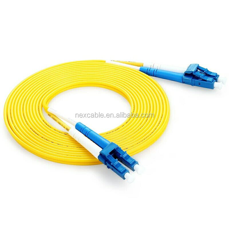 LC/UPC Simplex Duplex Multimode Fiber Optic Patch Cord