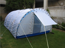 Tunnel tent for family camping canvas tunnel tent