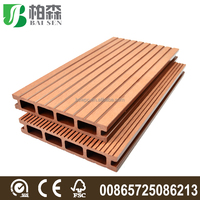 Anti-slip Wood Plastic Composite Deck Board WPC Deck Flooring