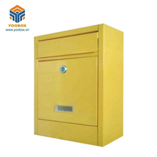 Modern Design Apartment Stainless Steel Us Lockable Mailbox For Letters