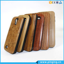 2in1 pc+tpu Imitation Wood Grain cover case for Samsung S5 , phone case for Samsung S5
