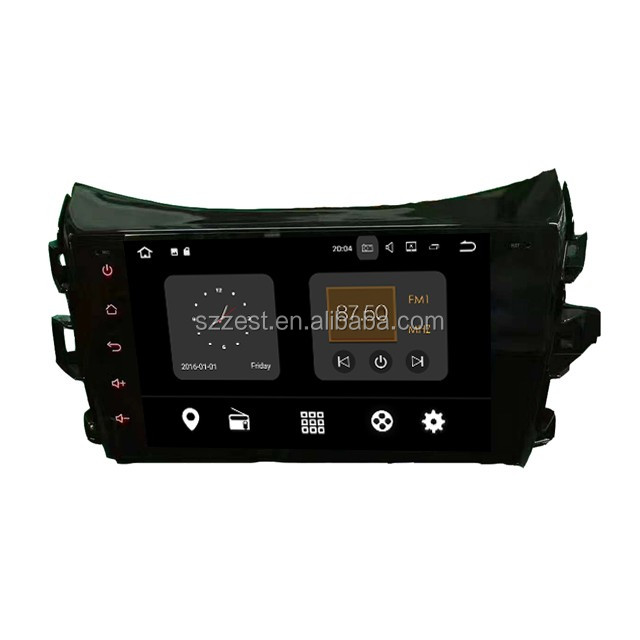 ZETSTECH Android 7.1 Car DVD Radio for Nissan Navara/NP300 2014- with GPS/wifi