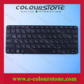 Russian Black Laptop Keyboard For HP CQ10 Series V112003AS1