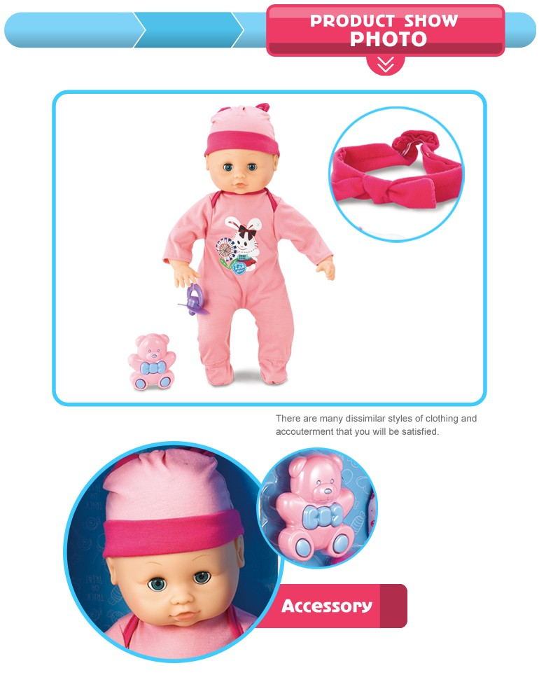 Wholesale Educational Change Clothes Toy Reborn Doll Baby