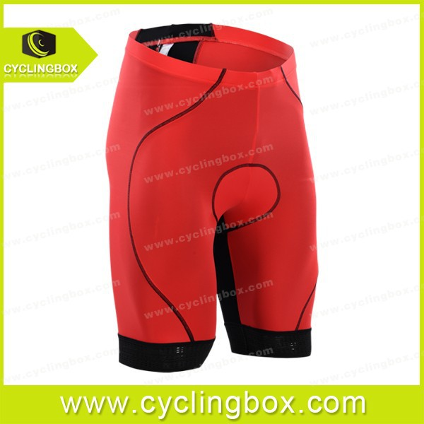 Cyclingbox Astra red mountain cycling bib shorts and normal shorts