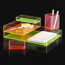 wholesale decorative christmas color acrylic gift box