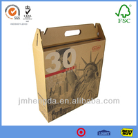 Brown Corrugated Paper With Printing Paper Box Suppliers Of China