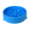 Hot Selling Slow Feeder Anti Choking Plastic Slow Eating Dog Bowl for Dogs Eating