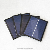 Frameless 2W small solar panel 9V for small solar systems