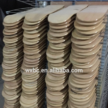 Wholesale professional customized color 100% wooden best chinese maple blank uncut skateboard decks