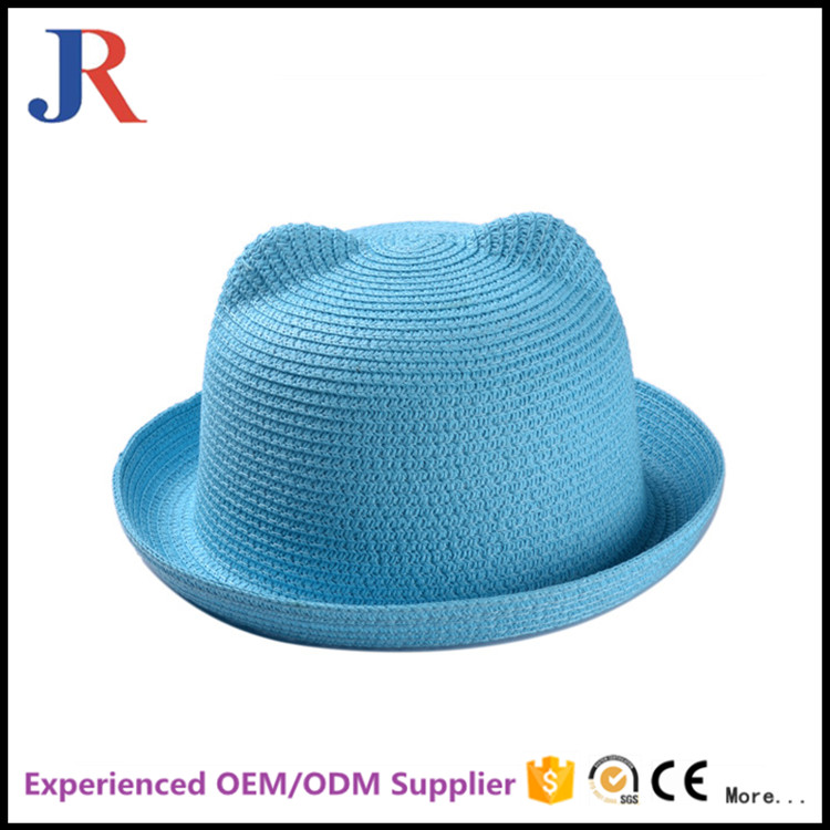 JiangRun 2016 hign quality cheap warm lovely wholesales hot good sale girls straw hat