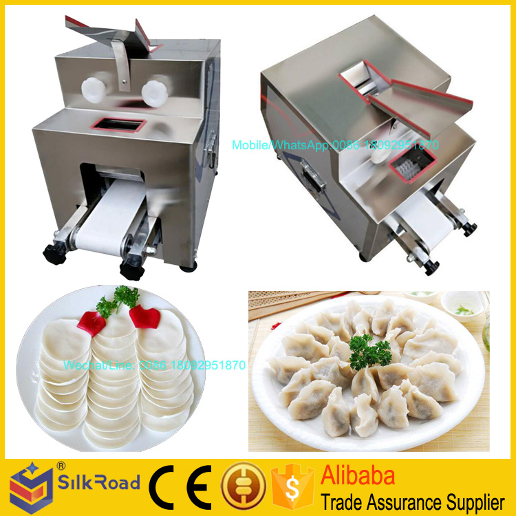 High Efficient Pelmeni Skin Machine