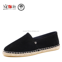 New model casual shoes,Suede Fabric shoes espadrilles